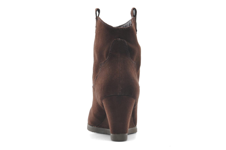 Bottines et boots Derhy Crawl Marron vue droite