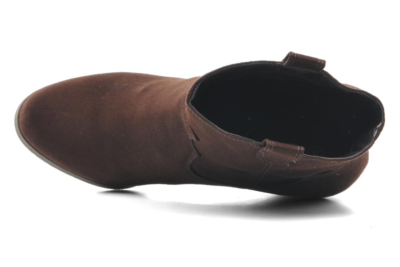 Bottines et boots Derhy Crawl Marron vue gauche