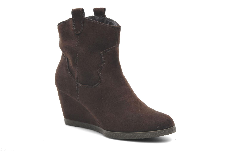 Bottines et boots Derhy Crawl Marron vue détail/paire