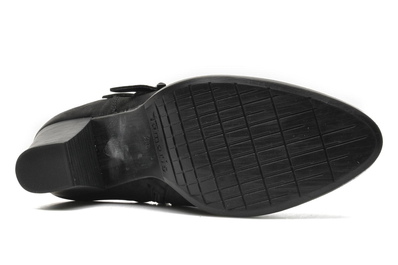 Bottines et boots Tamaris Troxli Noir vue haut