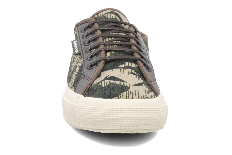 Baskets Superga 2229 Cot M Multicolore vue portées chaussures