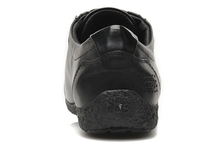 Chaussures à lacets TBS Kahina Noir vue droite