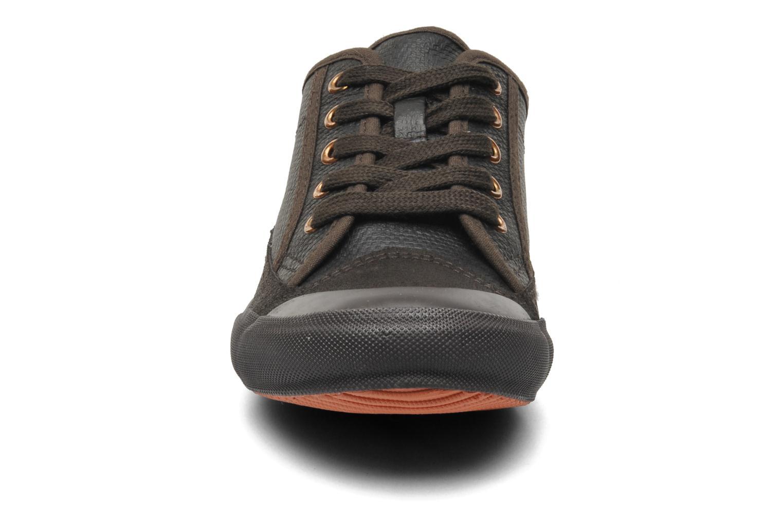 Baskets TBS Ocelie Marron vue portées chaussures