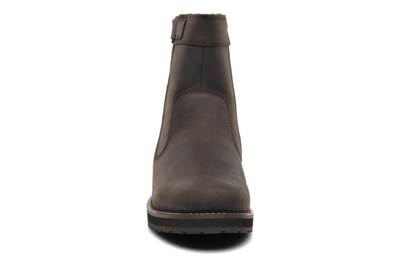 Bottes TBS Quamer Marron vue portées chaussures