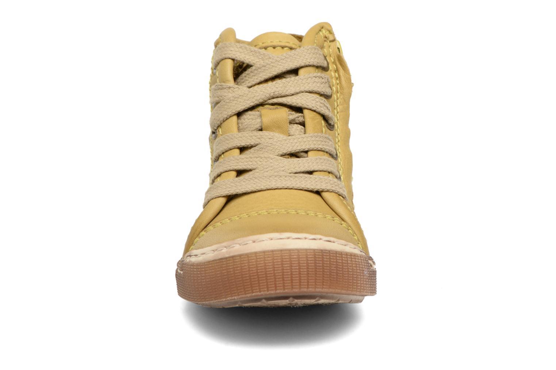 Baskets Bisgaard Henrik Vert vue portées chaussures