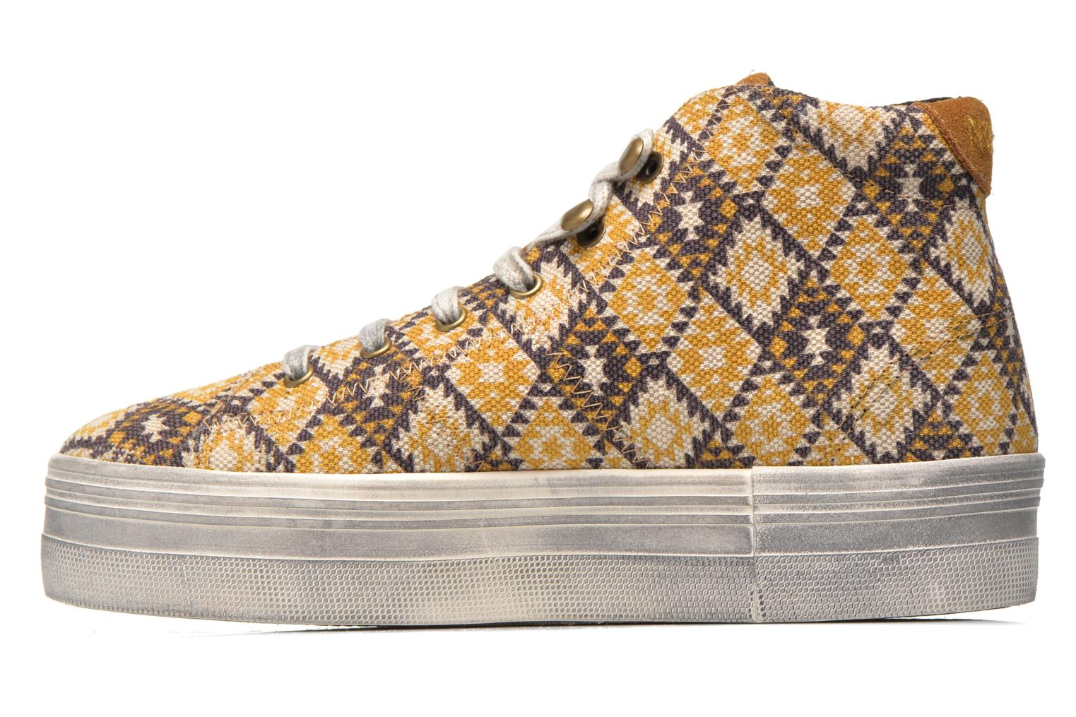 Sneakers No Name Plato High Cut Cheyenne Multicolor voorkant