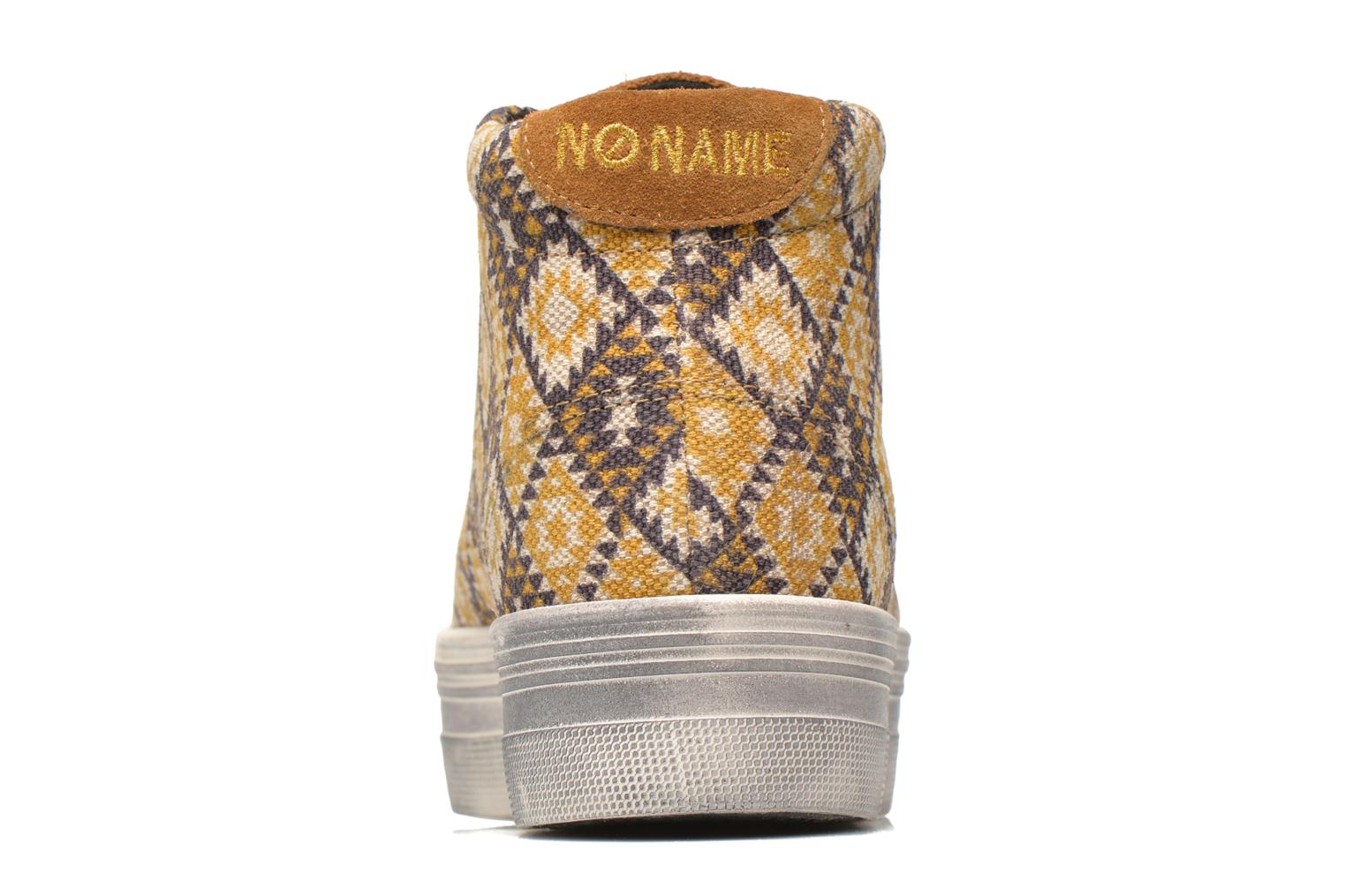 Sneakers No Name Plato High Cut Cheyenne Multicolor rechts