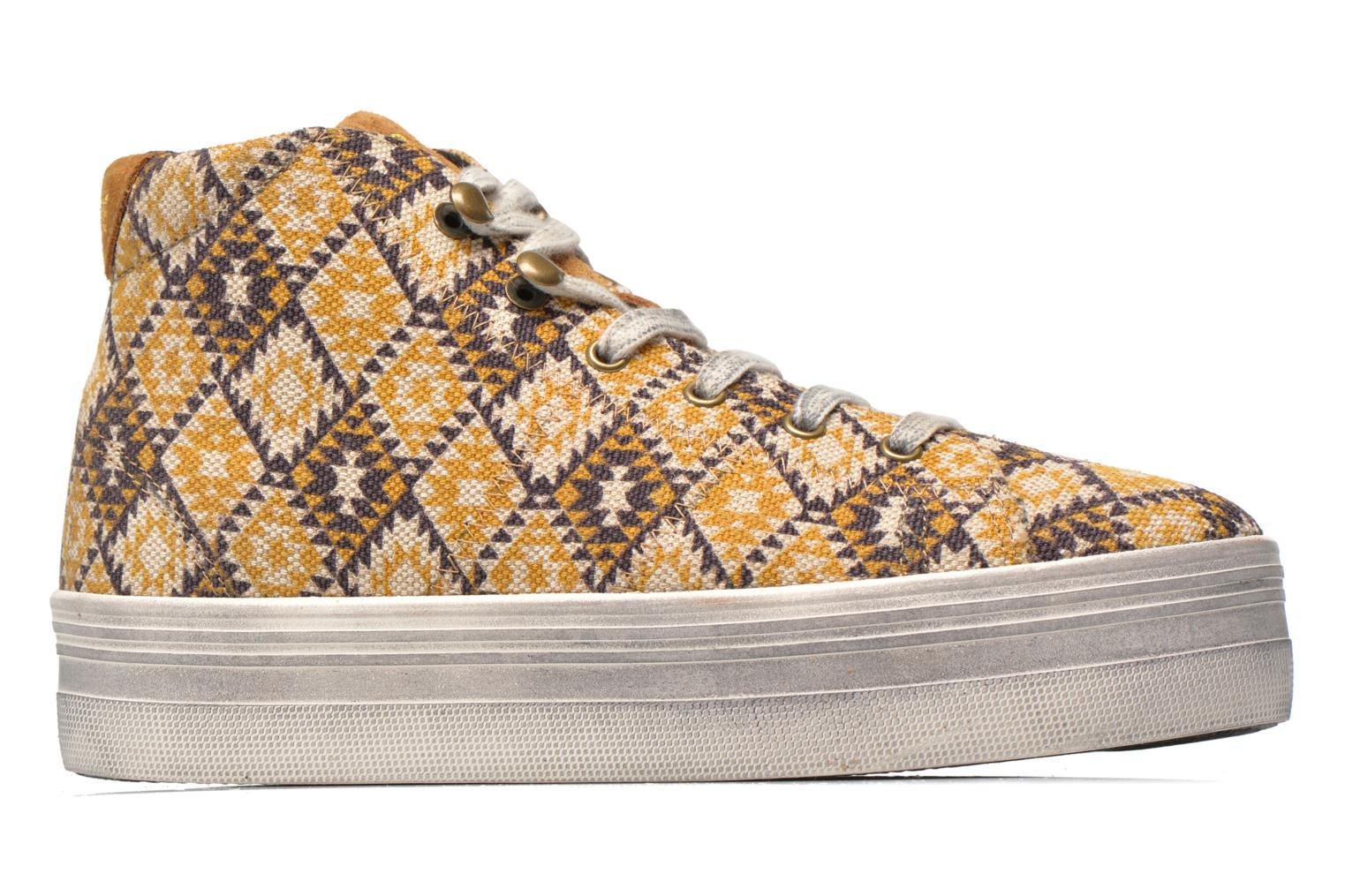 Sneakers No Name Plato High Cut Cheyenne Multicolor achterkant