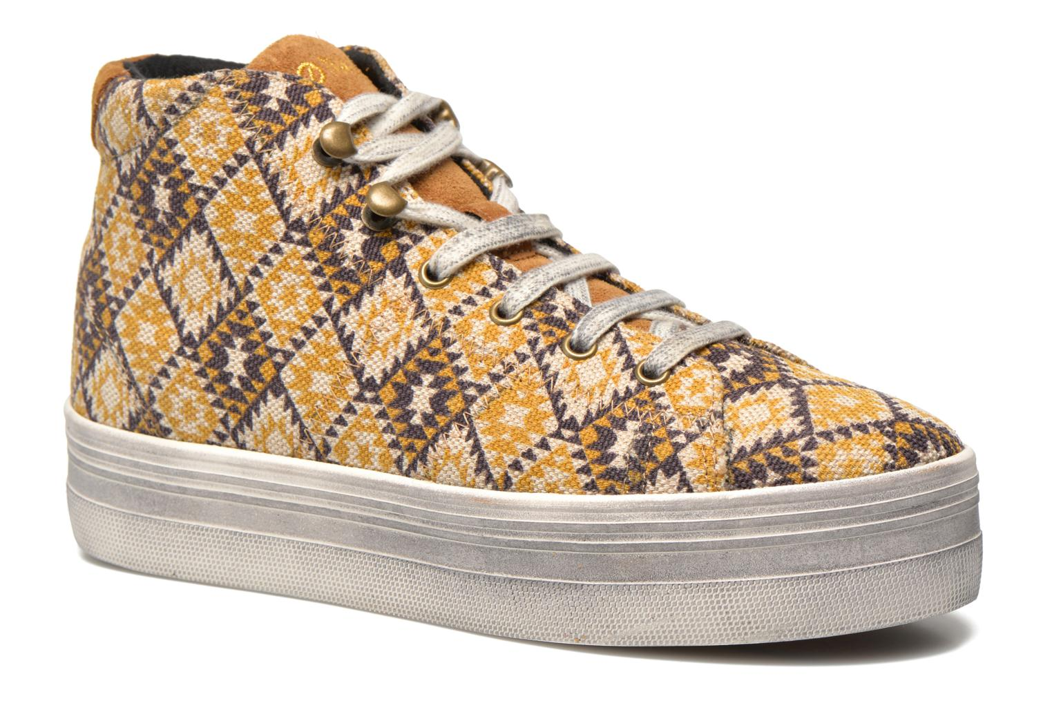 Sneakers No Name Plato High Cut Cheyenne Multicolor detail