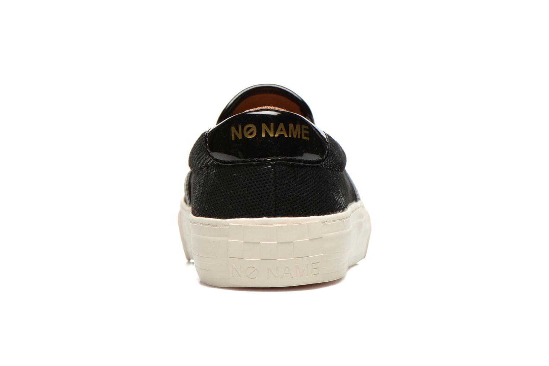 Sneakers No Name Arcade Slip On Zwart rechts