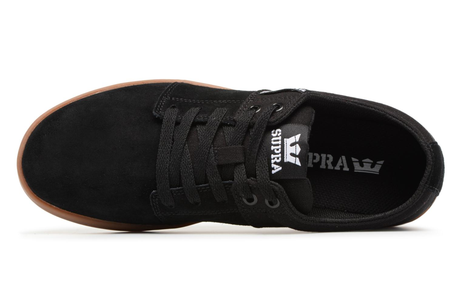 Sport shoes Supra Stacks II Black view from the left
