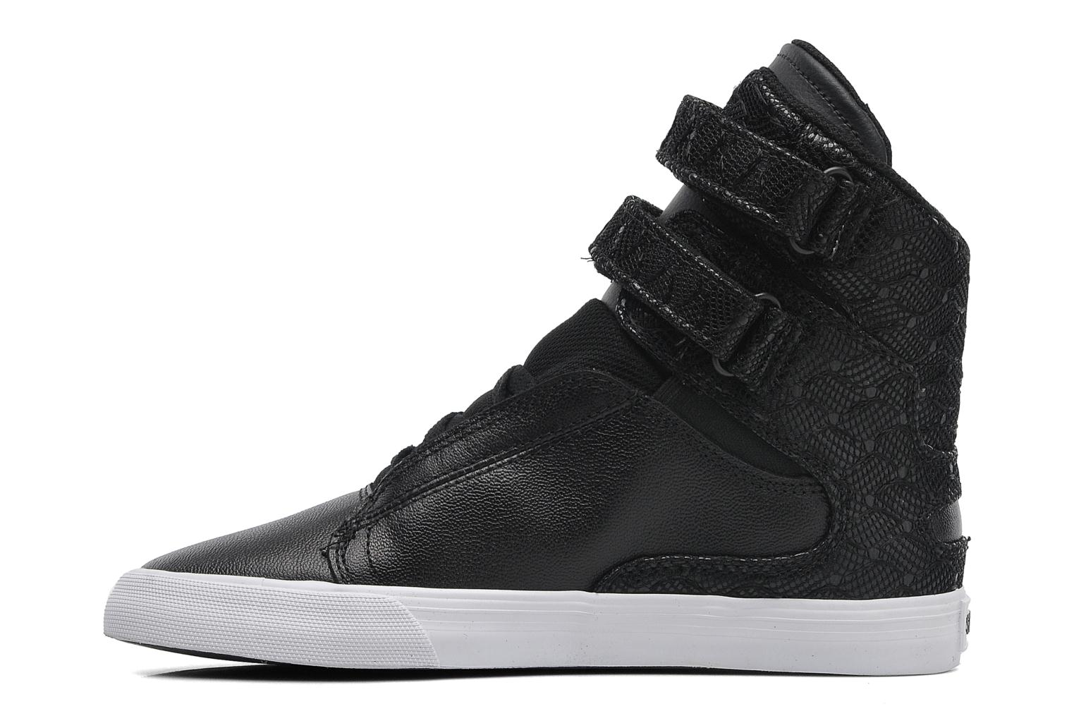 Baskets Supra Society II Noir vue face