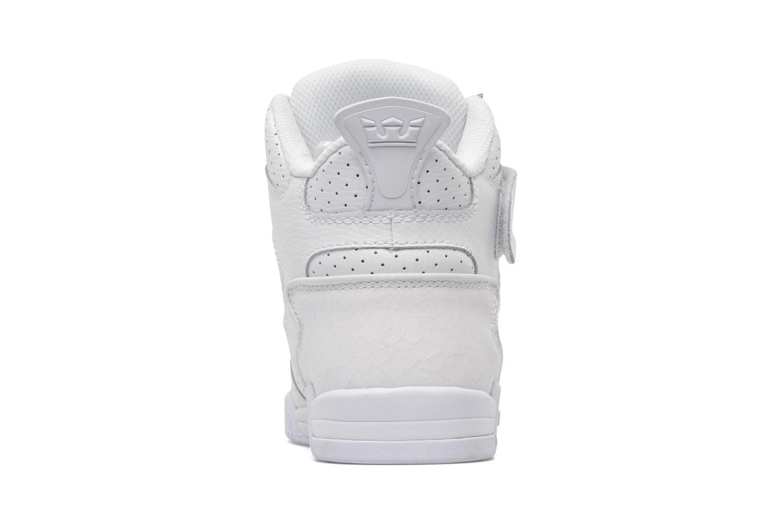Baskets Supra Bleeker Blanc vue droite