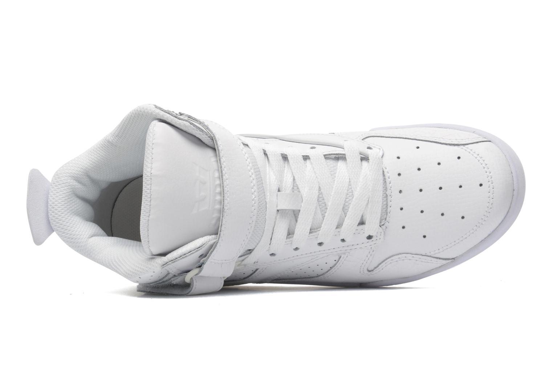 Sneaker Supra Bleeker weiß ansicht von links