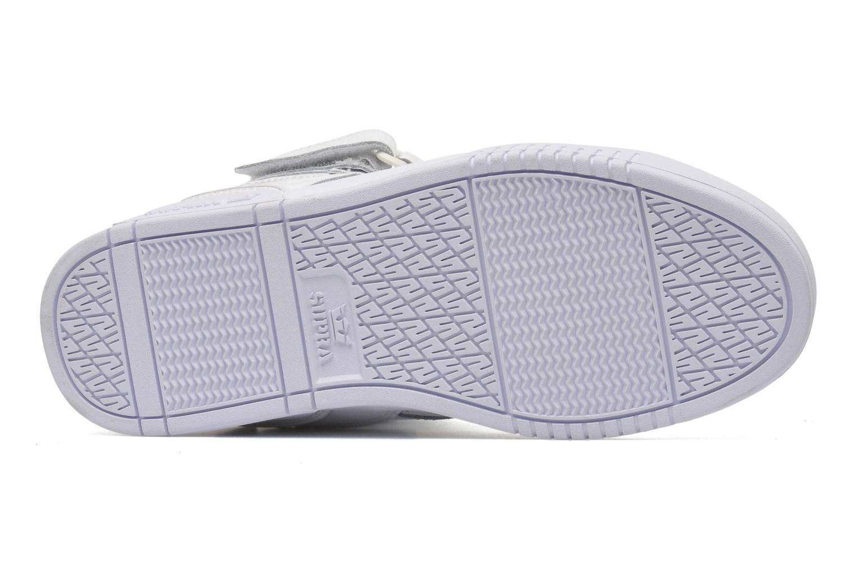Sneaker Supra Bleeker weiß ansicht von oben