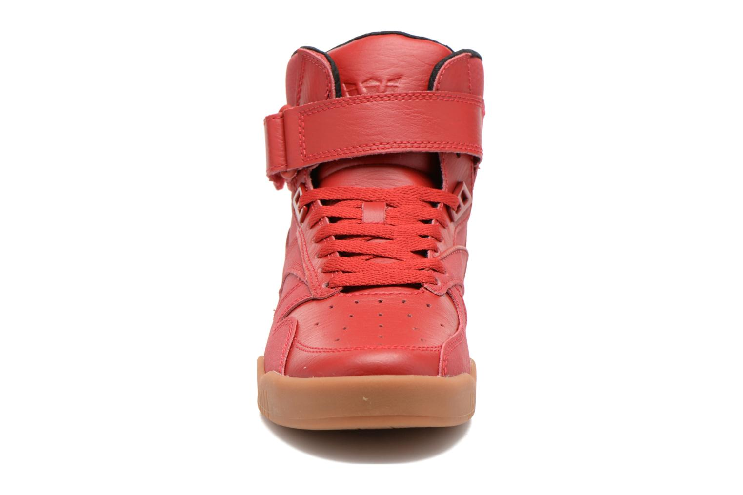 Trainers Supra Bleeker Red model view