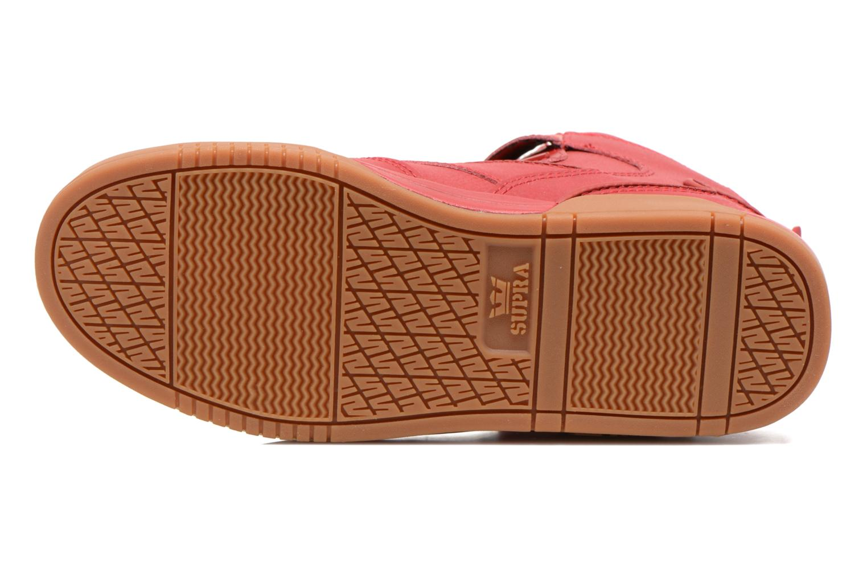 Sneaker Supra Bleeker rot ansicht von oben