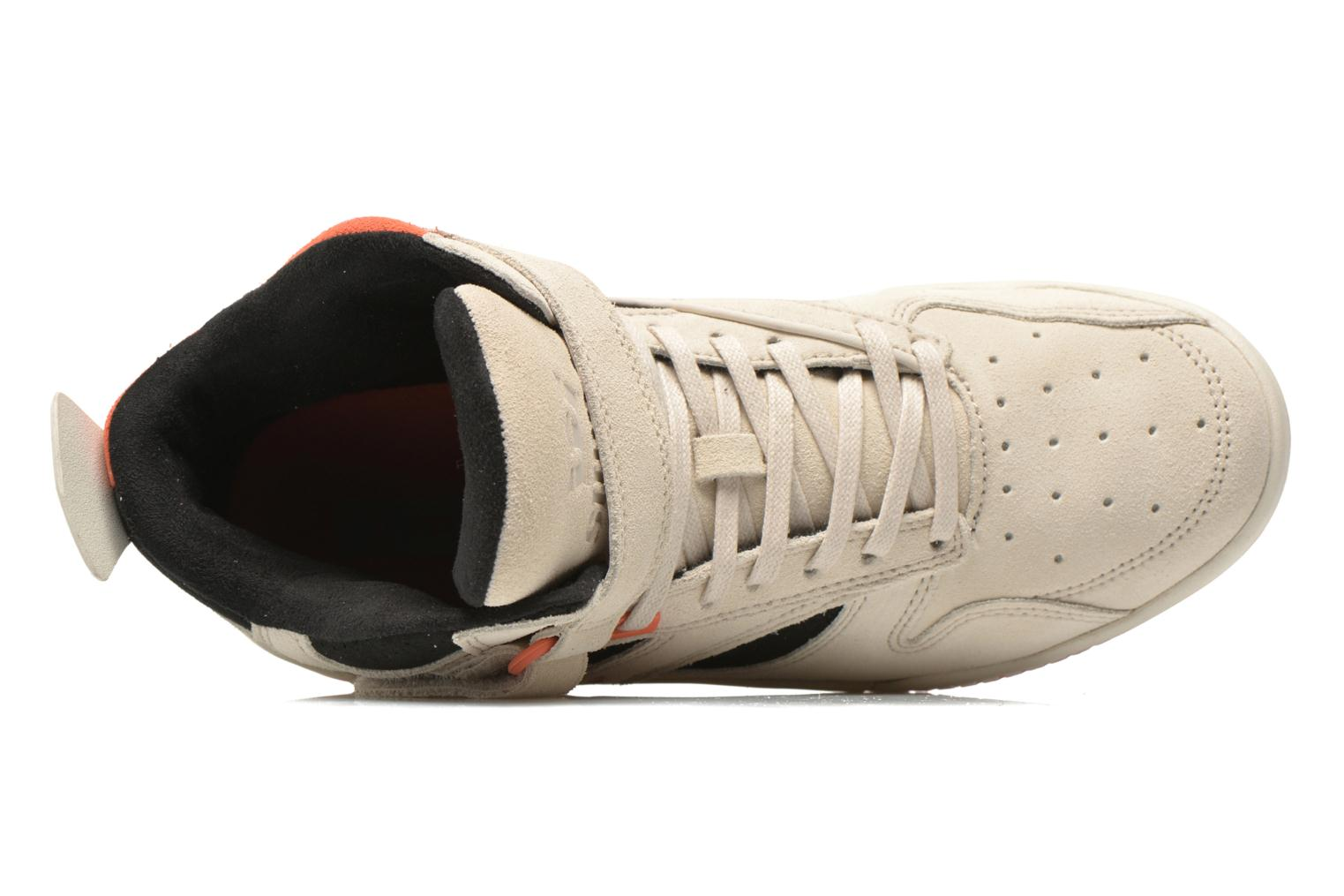 Bleeker Off White/Black/Coral