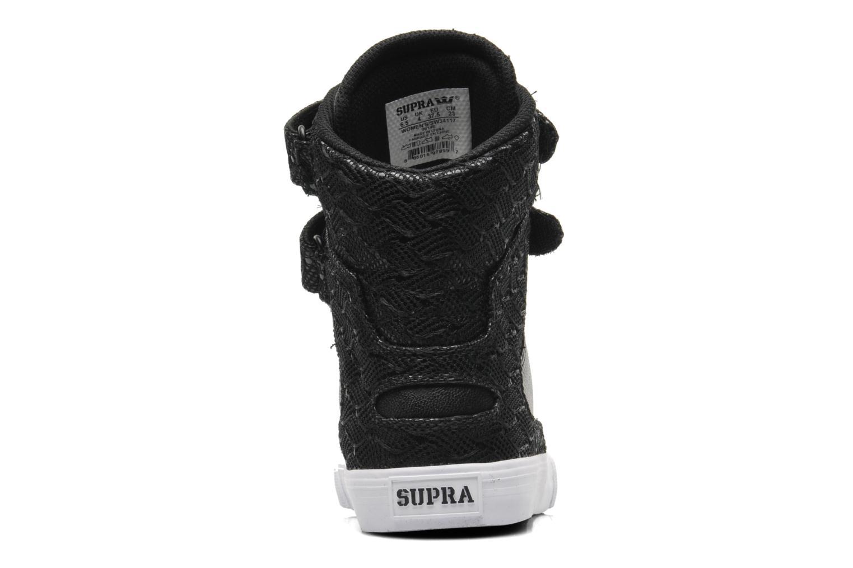 Baskets Supra Society II w Noir vue droite