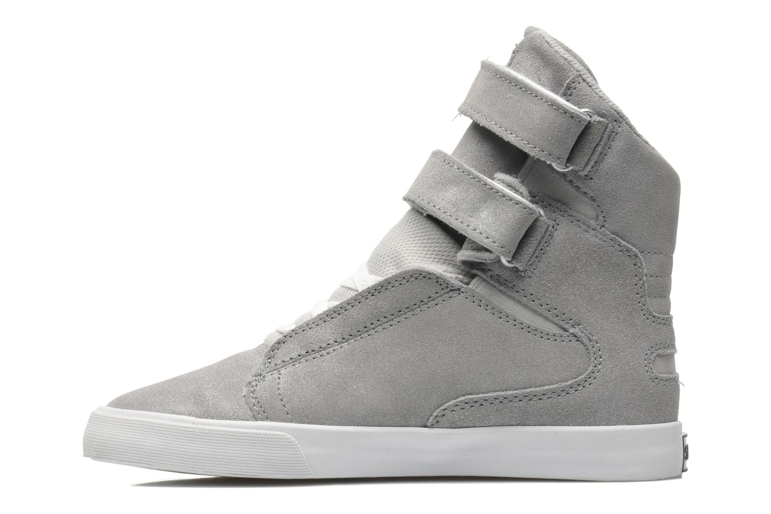 Baskets Supra Society II w Gris vue face
