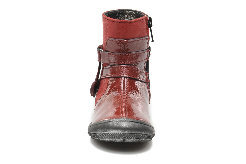 Bottines et boots Bopy BAKITI Rouge vue portées chaussures