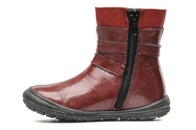 Bottines et boots Bopy BAKITI Rouge vue face
