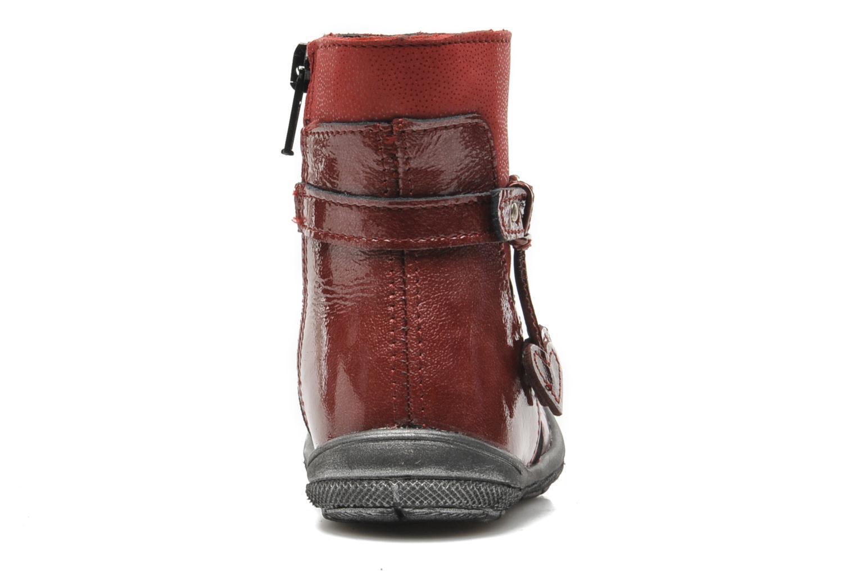 Bottines et boots Bopy BAKITI Rouge vue droite