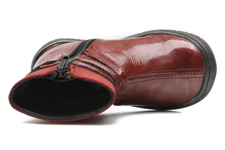 Bottines et boots Bopy BAKITI Rouge vue gauche