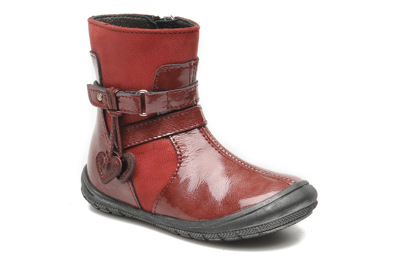 Bottines et boots Bopy BAKITI Rouge vue détail/paire