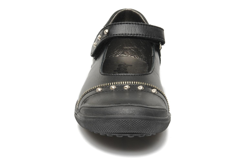 Ballerines Bopy SICLOU Noir vue portées chaussures