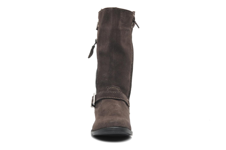 Bottes Bopy COPOYAC Marron vue portées chaussures