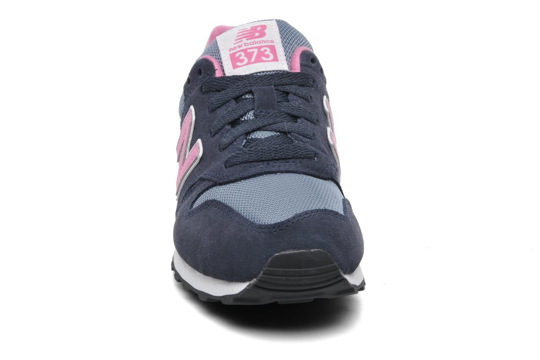Baskets New Balance W373 Bleu vue portées chaussures