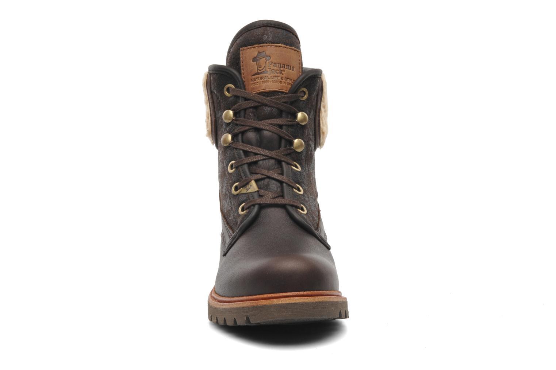 Bottines et boots Panama Jack Panama 03 Aviator B2 Marron vue portées chaussures