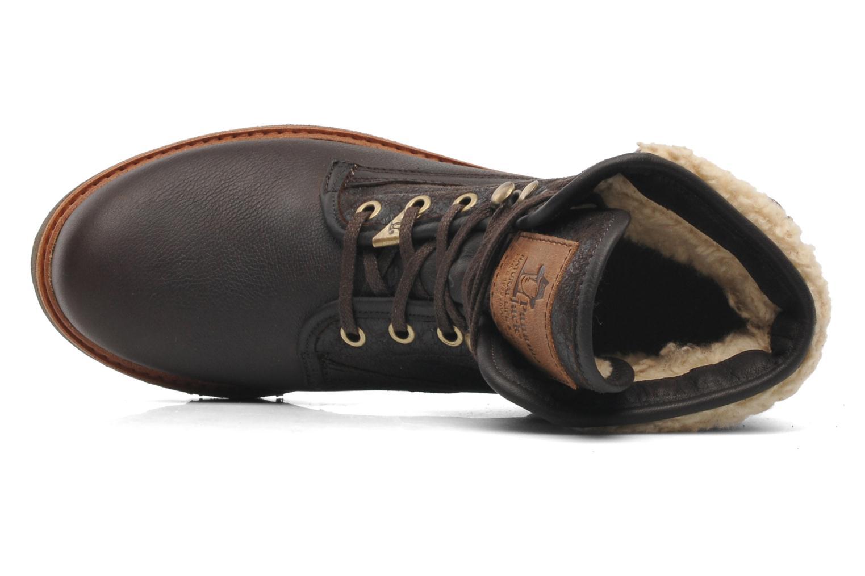 Bottines et boots Panama Jack Panama 03 Aviator B2 Marron vue gauche