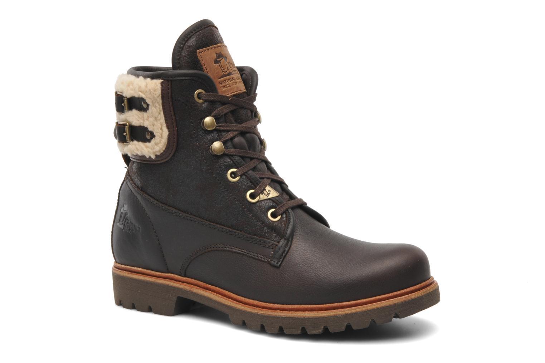 Bottines et boots Panama Jack Panama 03 Aviator B2 Marron vue détail/paire