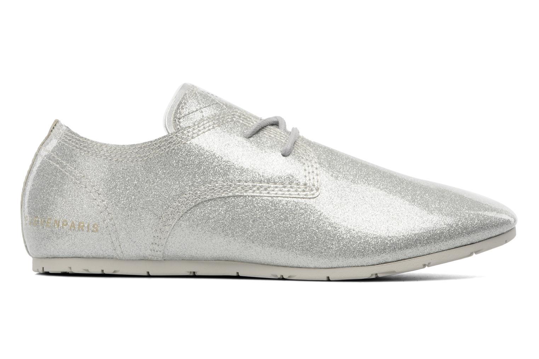 Chaussures à lacets Eleven paris baspat glitter silver Gris vue derrière