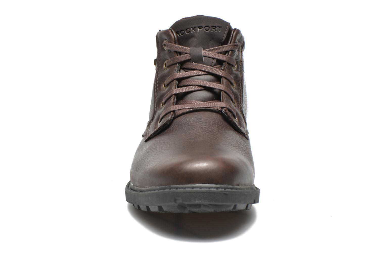 Chaussures à lacets Rockport Rgd Buc Wp Boot Marron vue portées chaussures