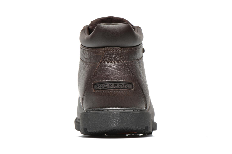 Chaussures à lacets Rockport Rgd Buc Wp Boot Marron vue droite