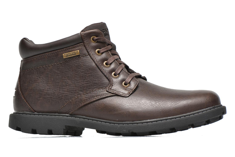 Chaussures à lacets Rockport Rgd Buc Wp Boot Marron vue derrière