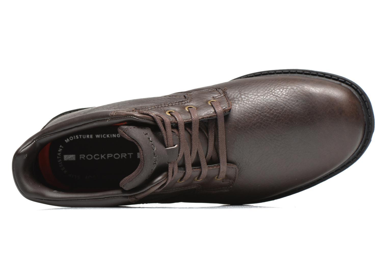 Chaussures à lacets Rockport Rgd Buc Wp Boot Marron vue gauche