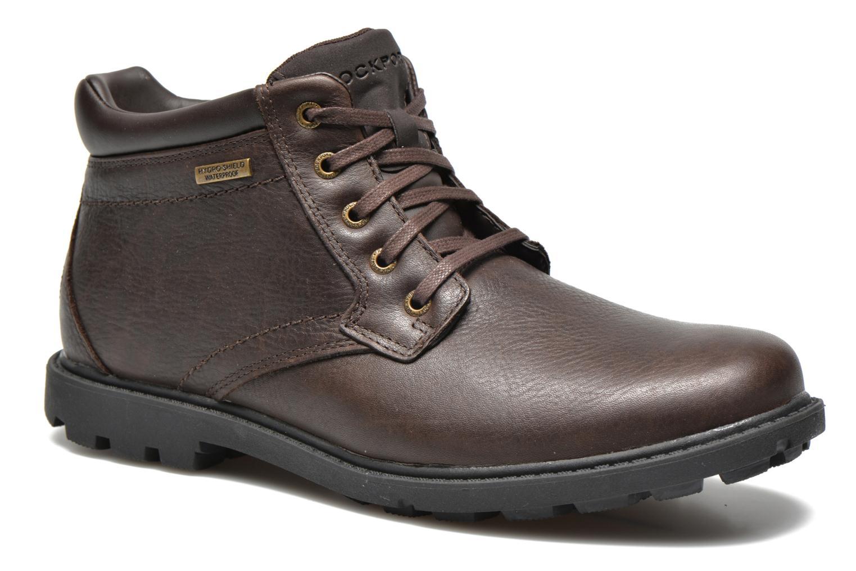 Chaussures à lacets Rockport Rgd Buc Wp Boot Marron vue détail/paire
