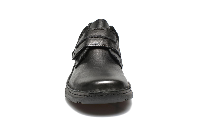Skor med kardborrband Rieker Killian 05358 Svart bild av skorna på