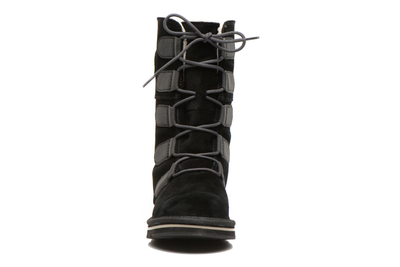 Bottines et boots Sorel Newbie Lace Noir vue portées chaussures