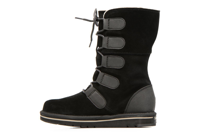 Bottines et boots Sorel Newbie Lace Noir vue face