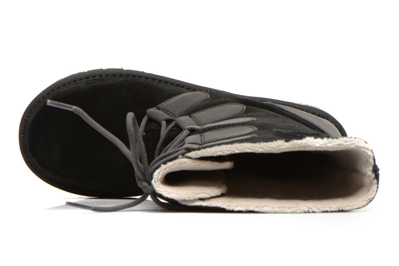 Bottines et boots Sorel Newbie Lace Noir vue gauche