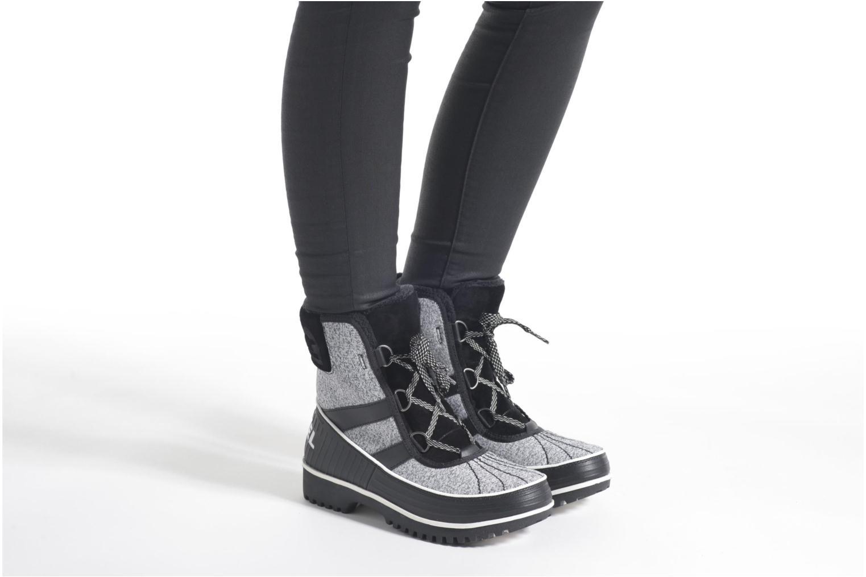 Chaussures de sport Sorel Tivoli II Gris vue bas / vue portée sac