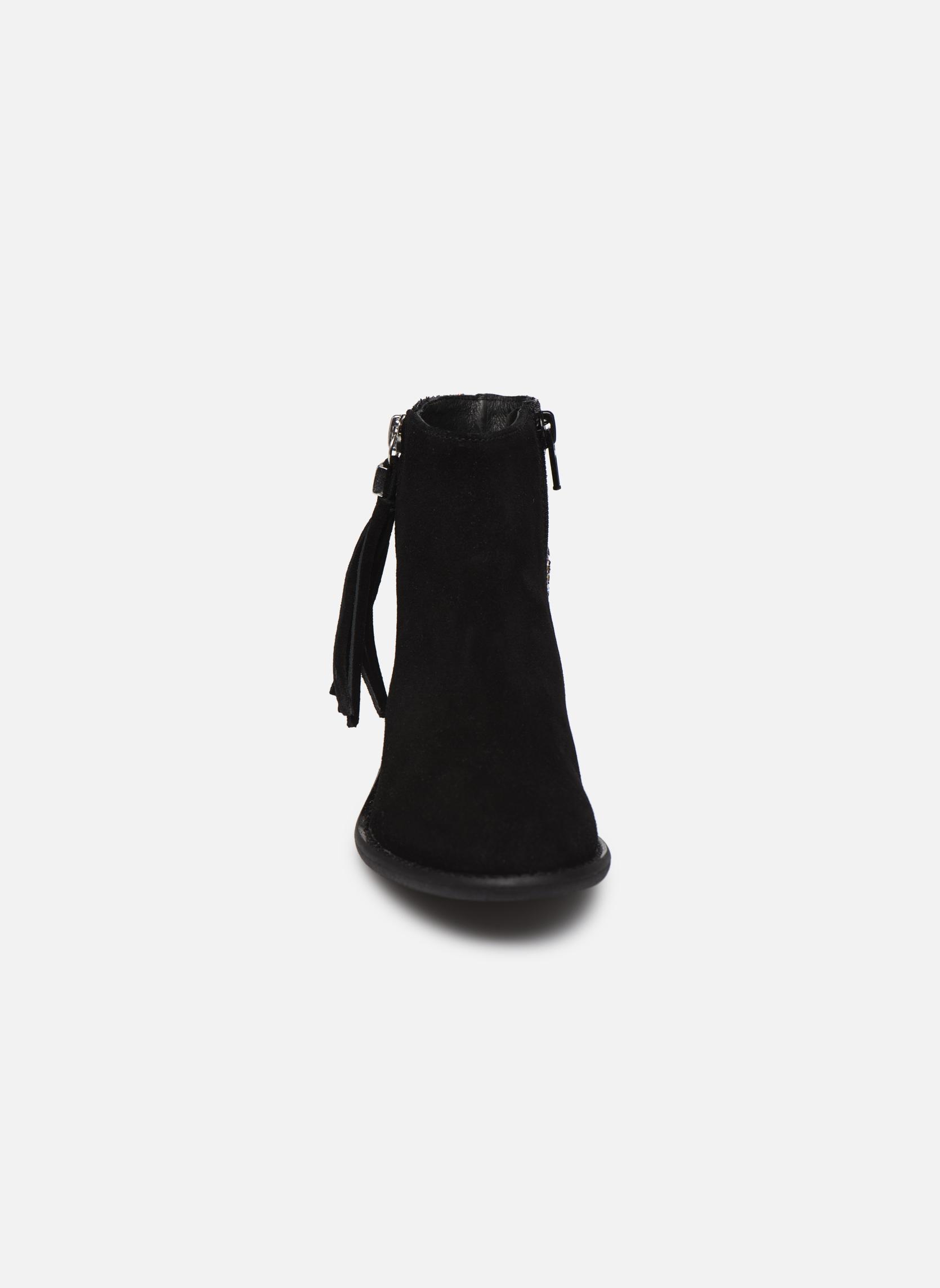 Amelle Noir/multicolore