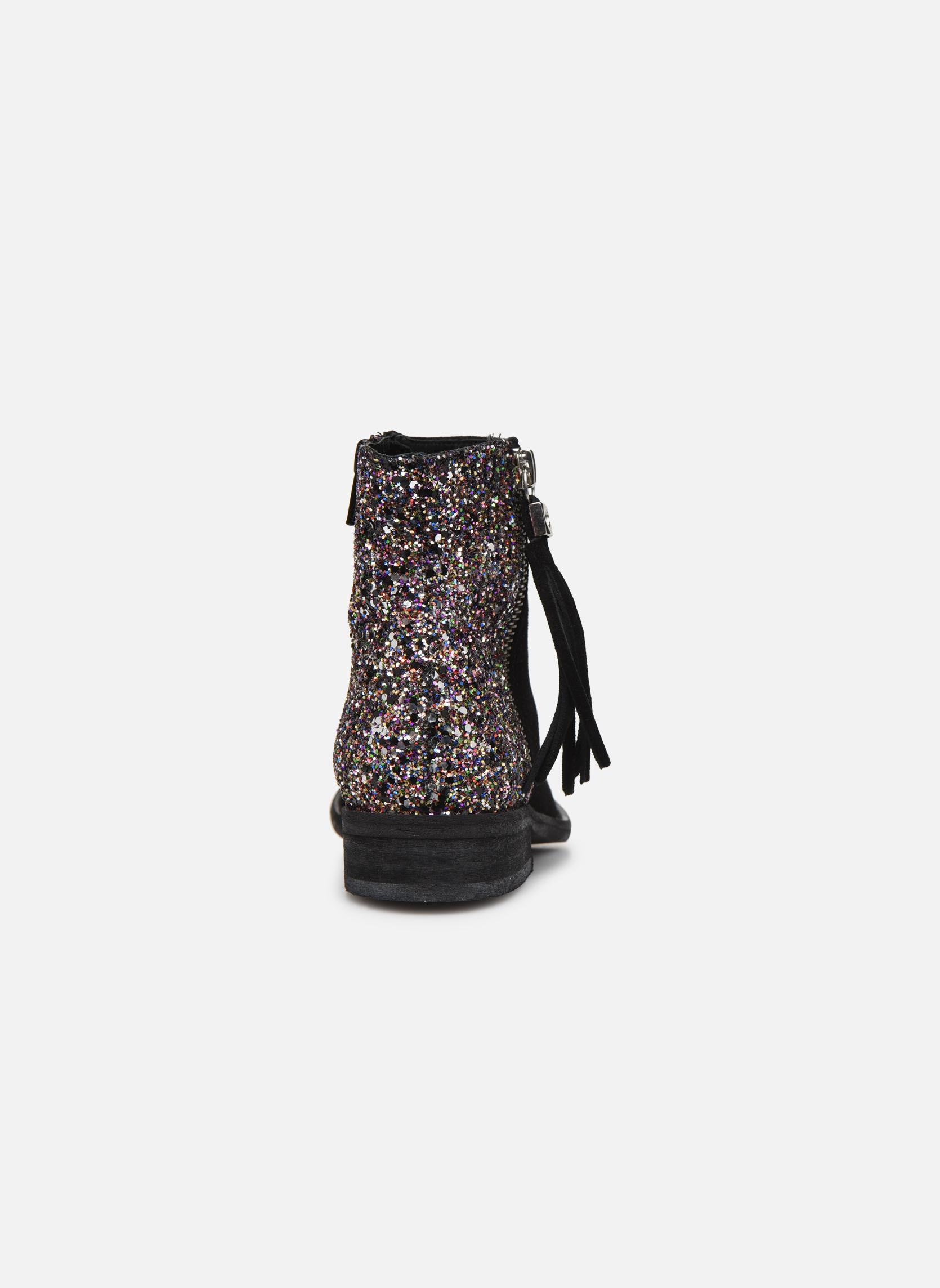 Bottines et boots Yep Amelle Noir vue droite