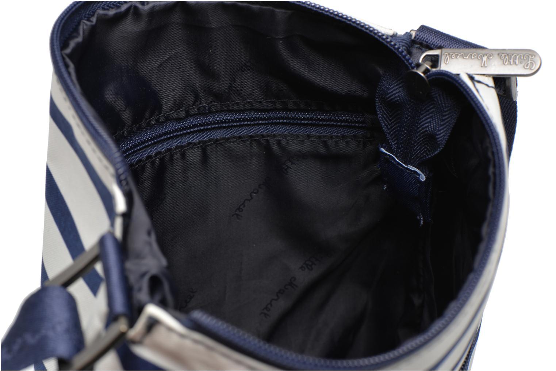 Handtassen Little Marcel Pepita Blauw achterkant