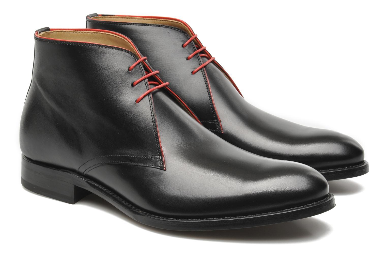 Zapatos con cordones Marvin&Co Luxe Welov Negro vista 3/4